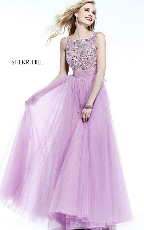 Orchid Sherri Hill 11022 Long Prom Dress | StyloMilo | Pinterest ...