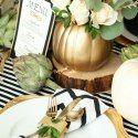 Holiday Entertaining Tips for Your Thanksgiving Table #tischdekoherbstesstisch