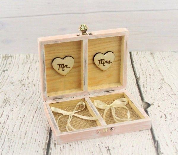 Eine Originelle Hochzeitsidee Ringkissen Aus Holz Selber Machen