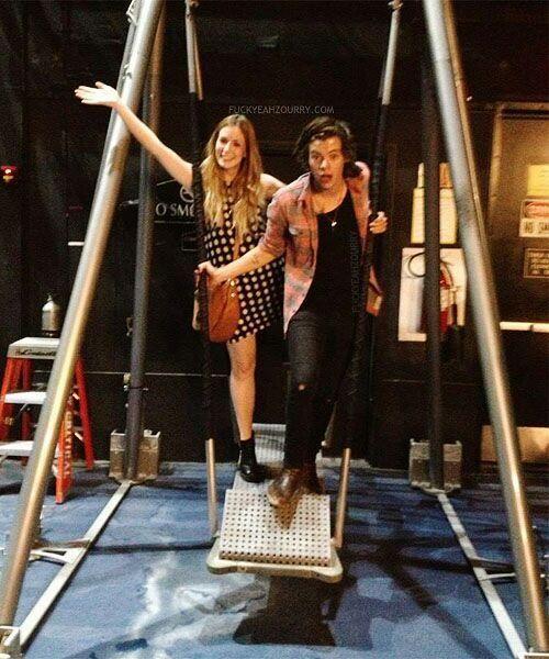 Harry and Gemma   Gemma styles