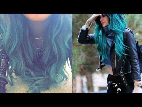 pinta tu cabello con sombra de ojos tipo kylie jenner facil extensiones youtube