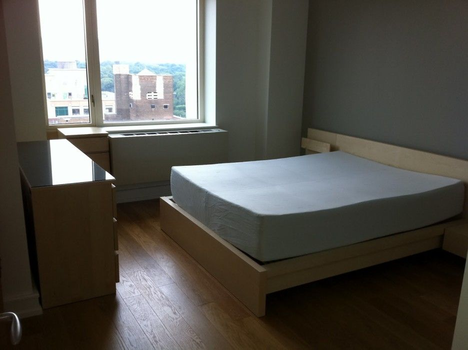 Inspiring Bedroom Decoration Using Assembly Malm Bed
