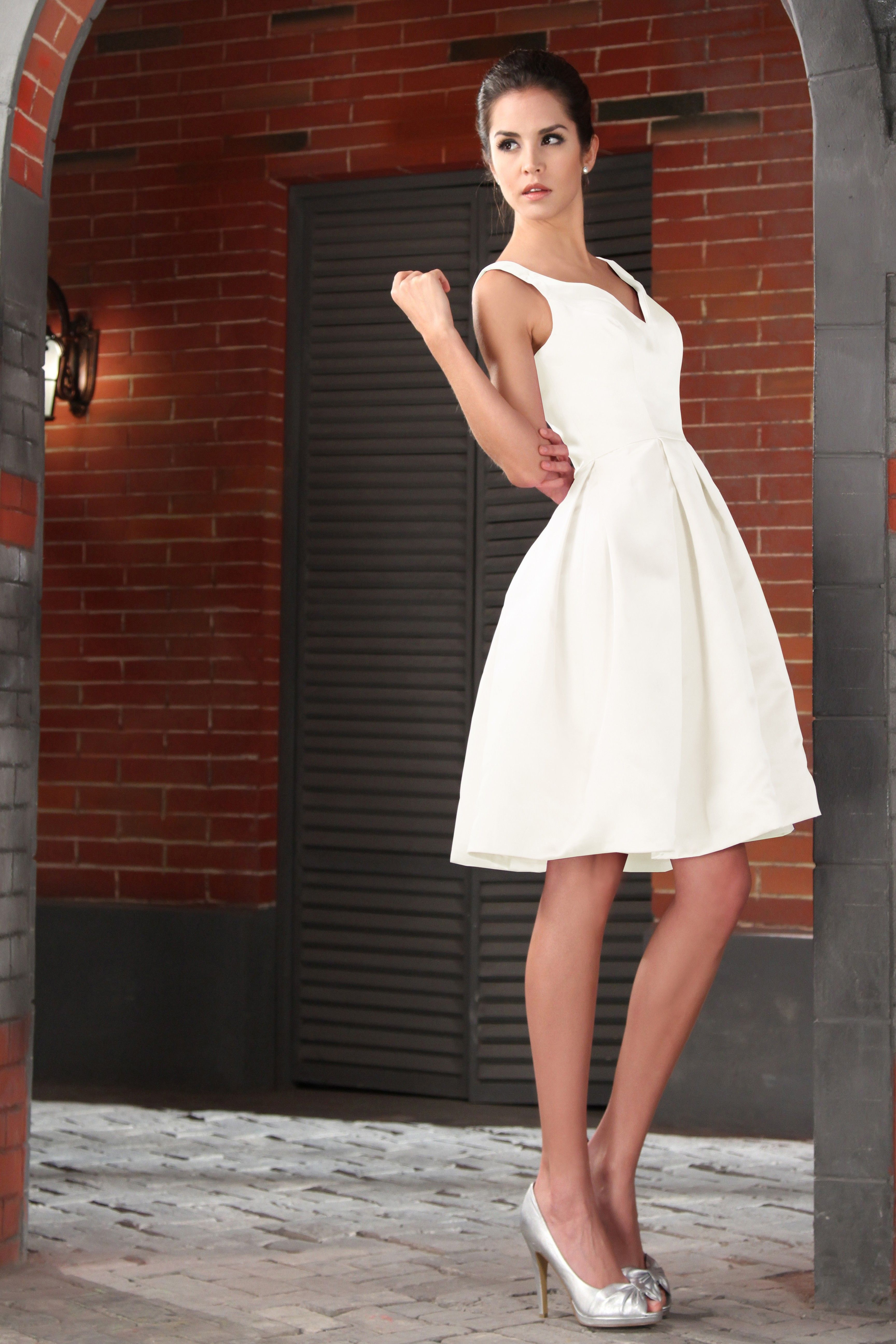 a collection of different white dresses for bridesmaids perfect ...