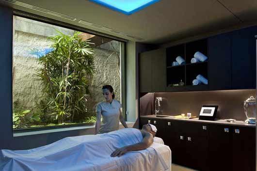 Resultado de imagen de masaje en hotel de 5 estrellas - Decoracion zen salon ...