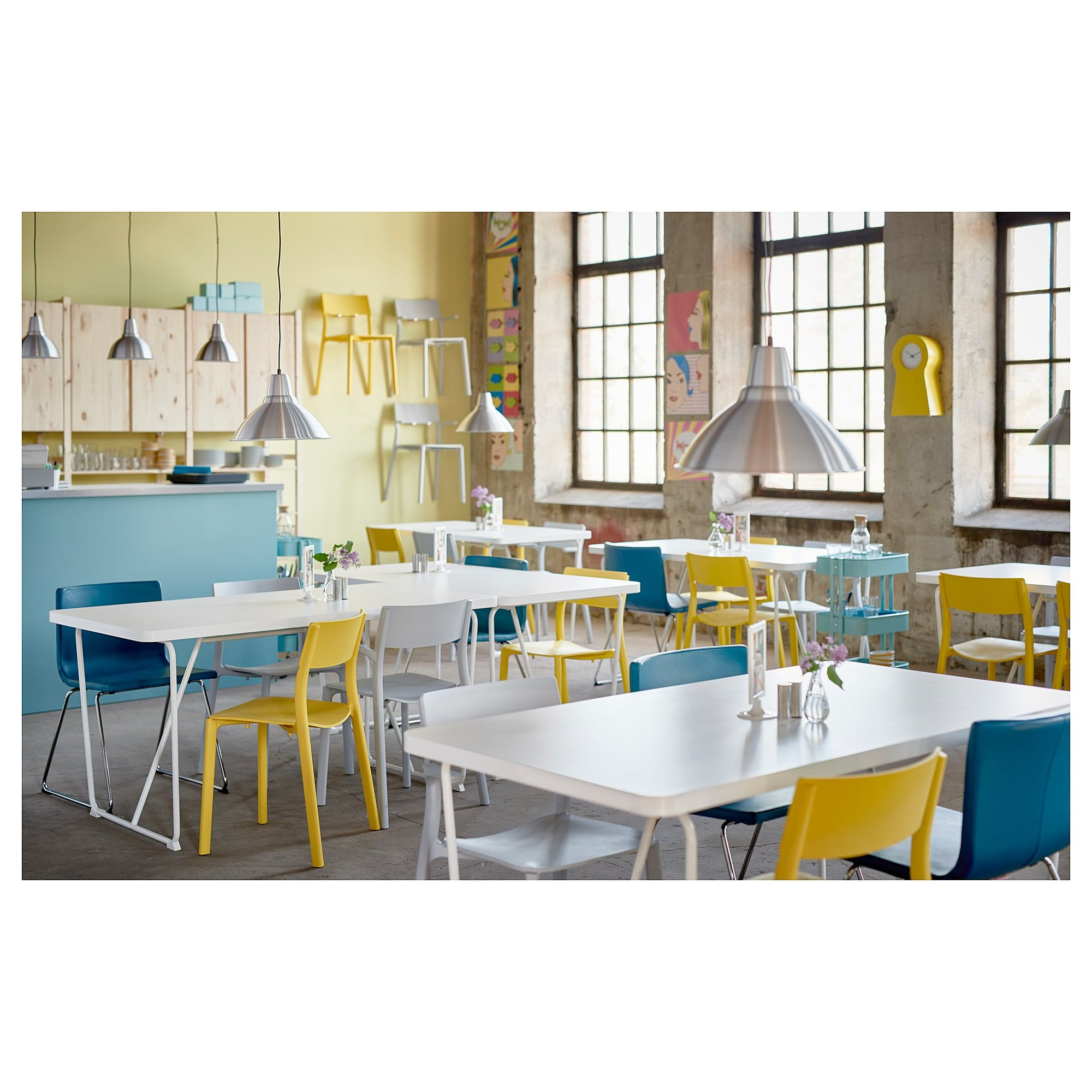 Ikea Janinge Chair Yellow In 2019 Cafe Concept Ikea