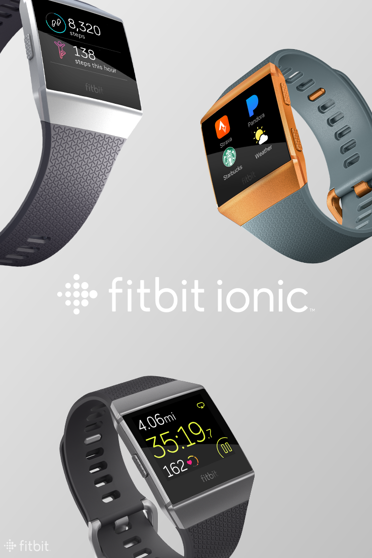 Meet Fitbit Ionic, the watch designed to help you stay