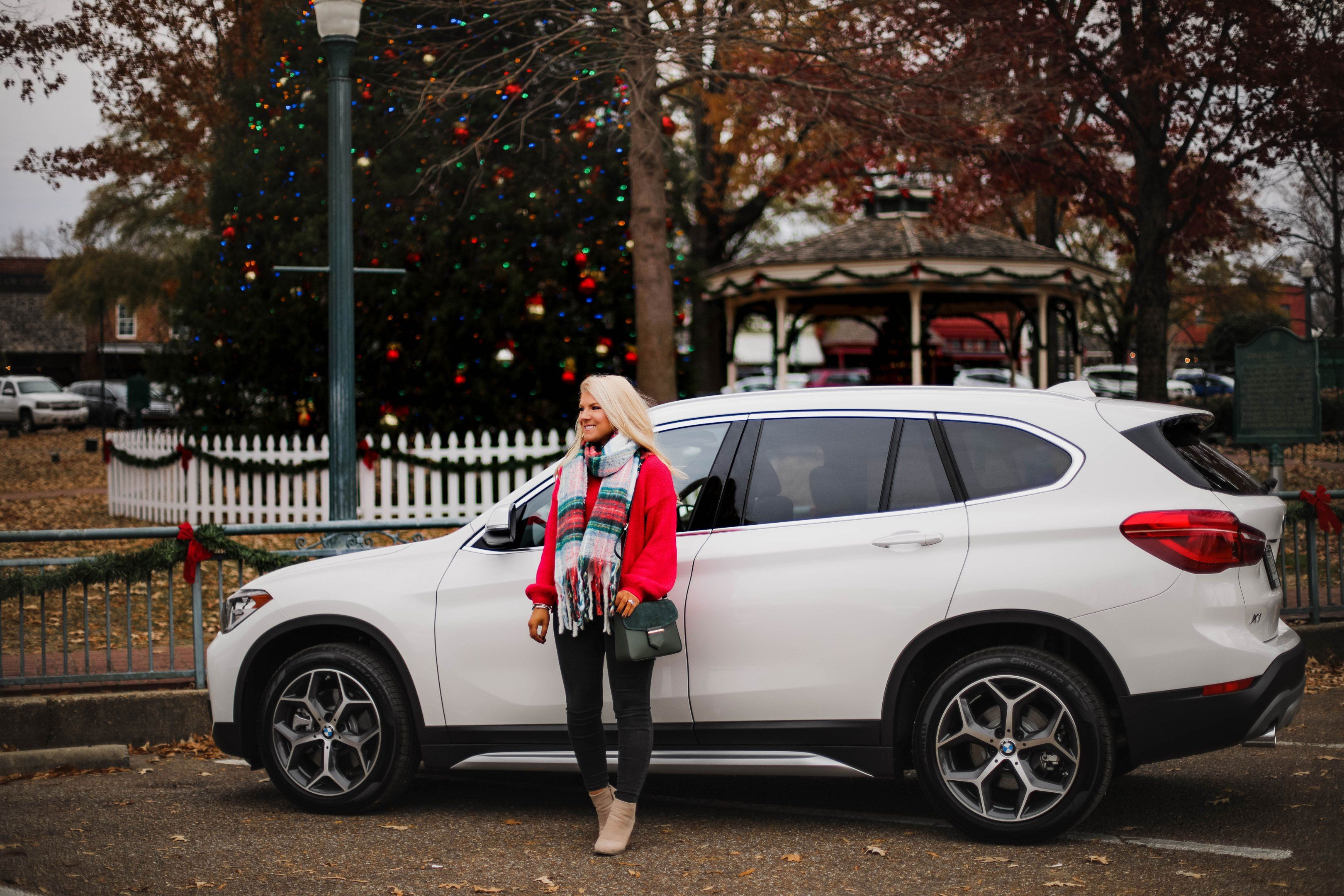 My Day With The Bmw X1 Bmw Car Holiday Sweater
