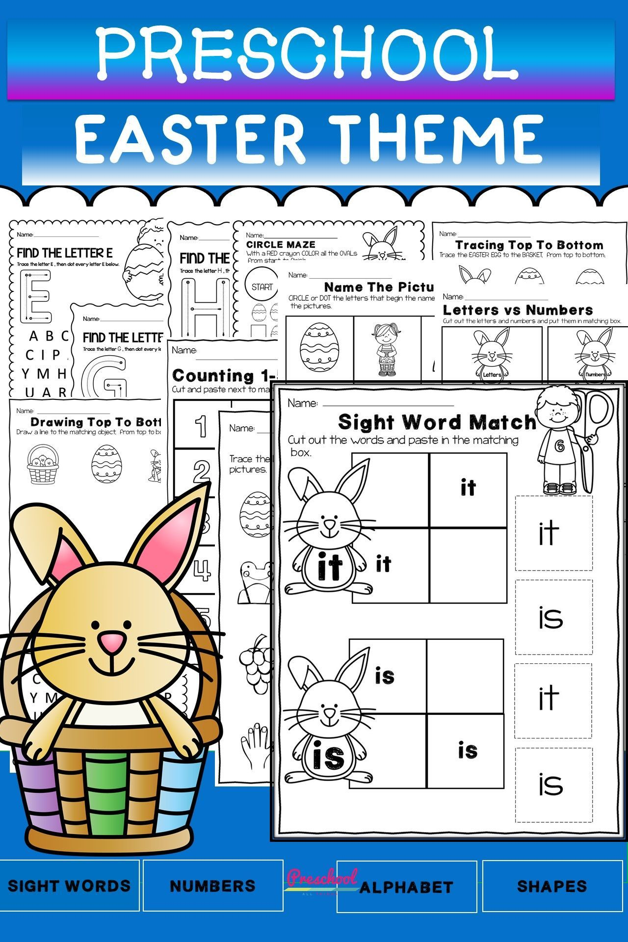 Easter Theme Packet