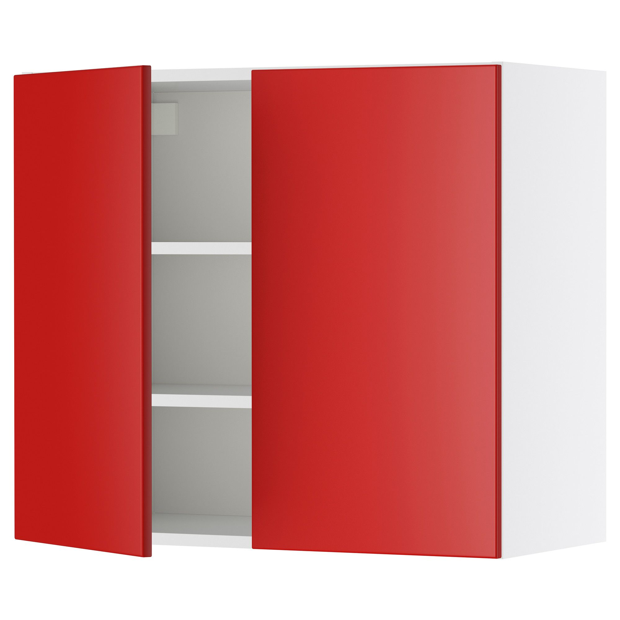 Applad Doors Ikea Kitchen: AKURUM Wall Cabinet With 2 Doors