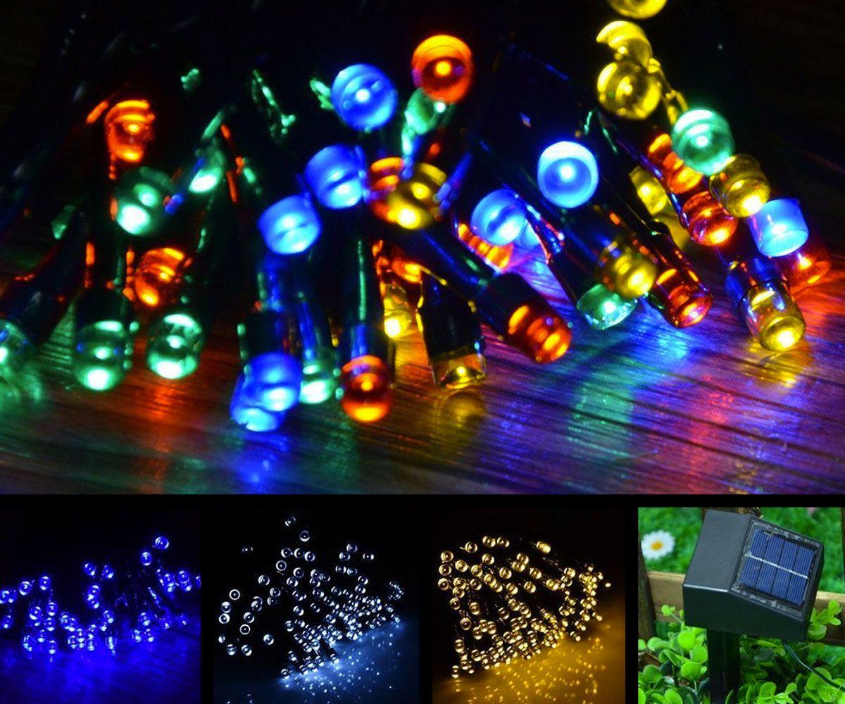 Solar powered christmas lights solar powered christmas lights solar powered christmas lights aloadofball Choice Image