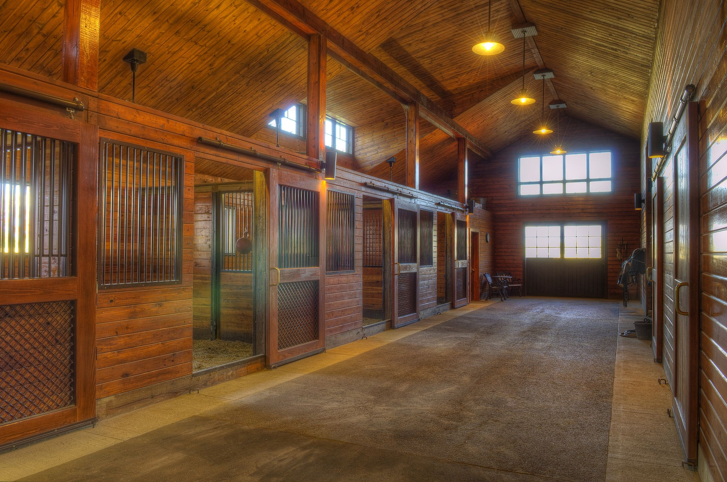 Nice interior barn pinterest spotlight stables and dream barn - Nice interior pic ...