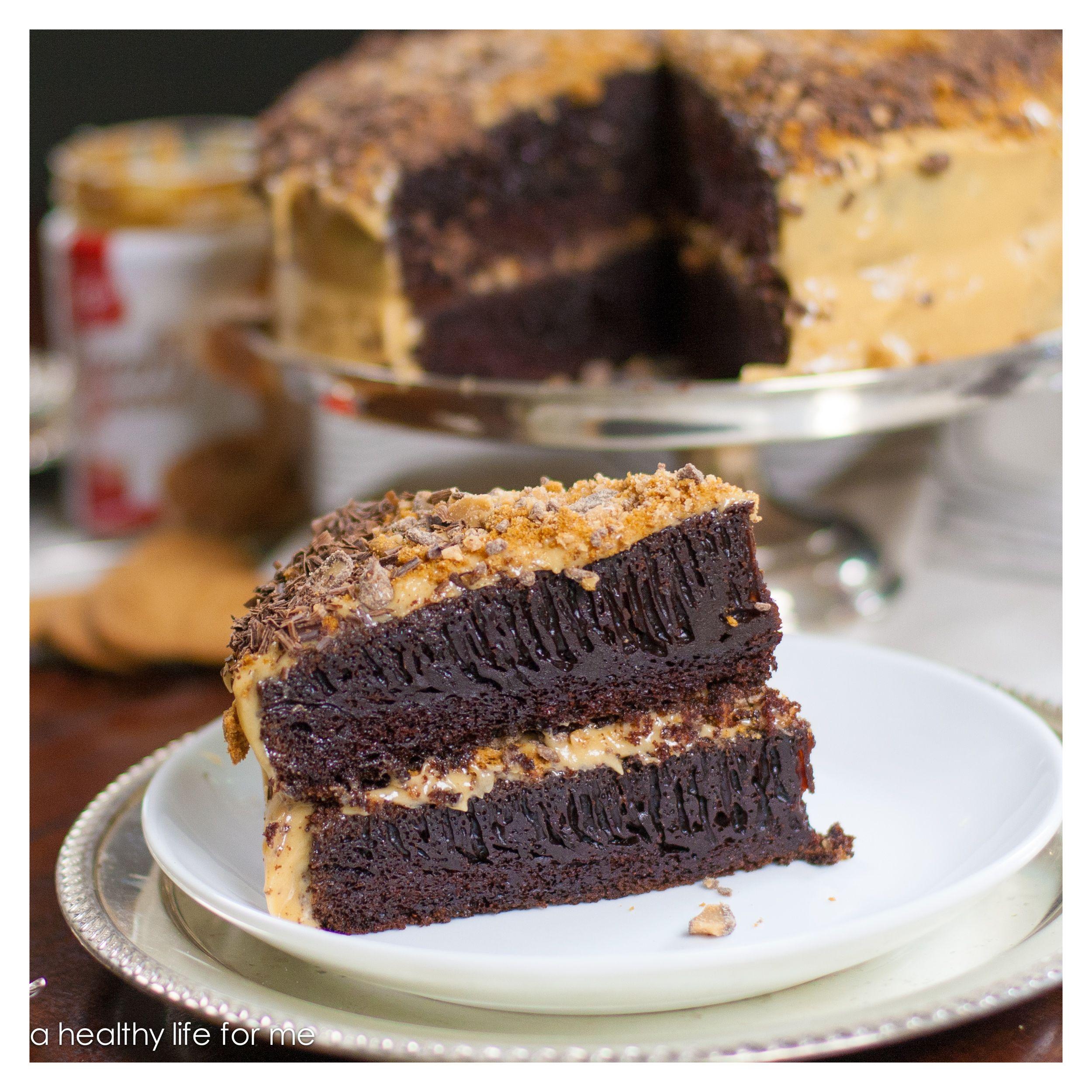 Biscoff Chocolate Coffee Cake Recipe. The **best** moist ...