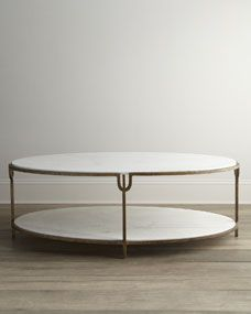 Olivia Marble Top Coffee Table