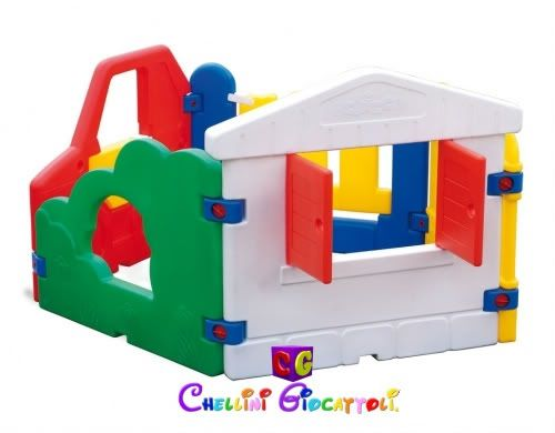 Chicco multipark recinto e box per bambini da giardino for Casetta chicco villa
