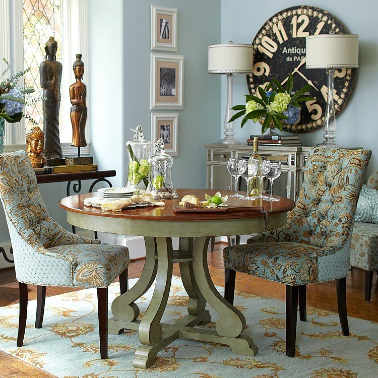 Superbe THIS Is The Small Dining Furniture I NEED ~ Need This Whole Dining Room.and  Everything In It PIER 1 ~ Laurier Dining Chair   Jacobean Blue Laurier  Dining ...