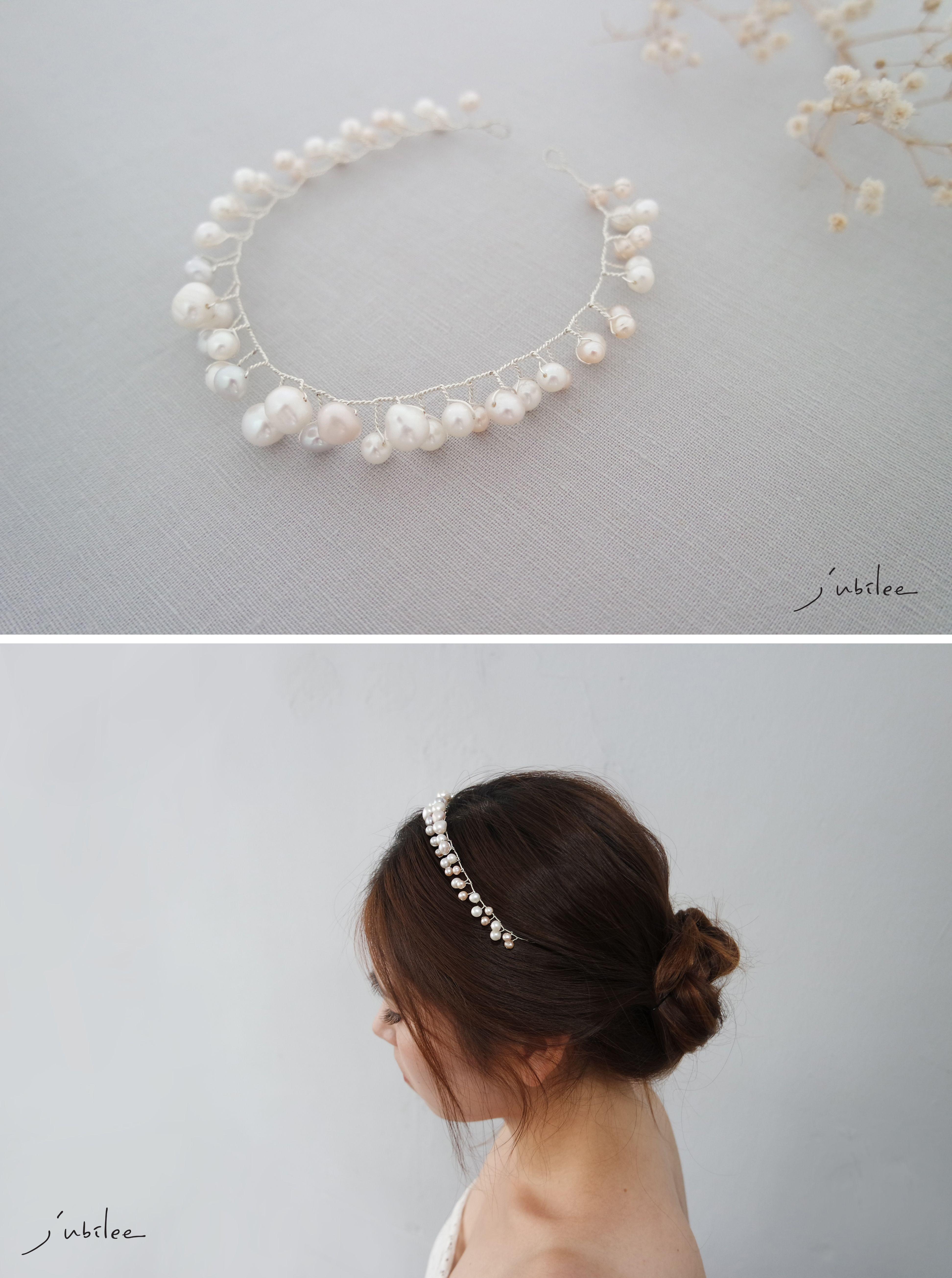 bridal shower hair,bridal crown,bridal halo headpiece,bridal halo ...