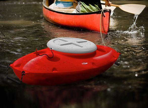 Pull-Behind Kayak Cooler | Kayak fishing | Kayak cooler