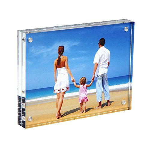 8 12 X11 Clear Acrylic Photo Frame Magnetic 50 Thicker Acrylic Block Picture Frames Double Sided F Acrylic Photo Frames Photo Frame Gift Acrylic Picture Frames