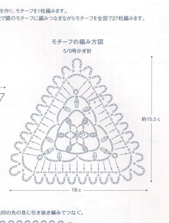 ClippedOnIssuu from Crochet   Granny   Croché, Triangulo crochet y ...