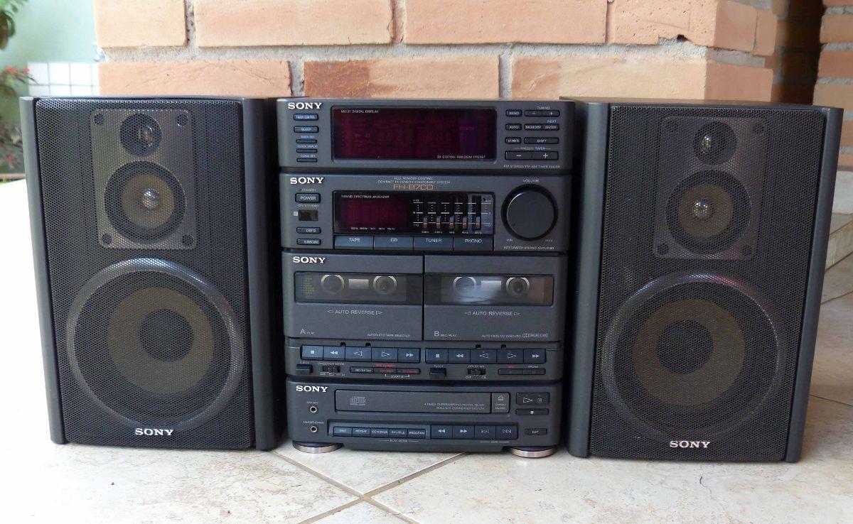 Micro System Radio Sony Fh B7cd R 200 00 No Mercadolivre