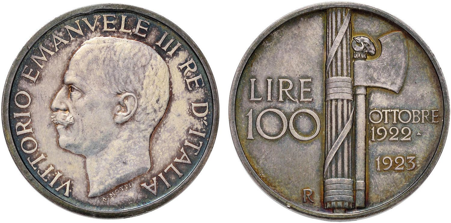 Nomisma Spa Auction 50 Lot 437 Vittorio Emanuele Iii 1900 1946 100 Lire 1923 In Argento Contorno Coins Auction Personalized Items
