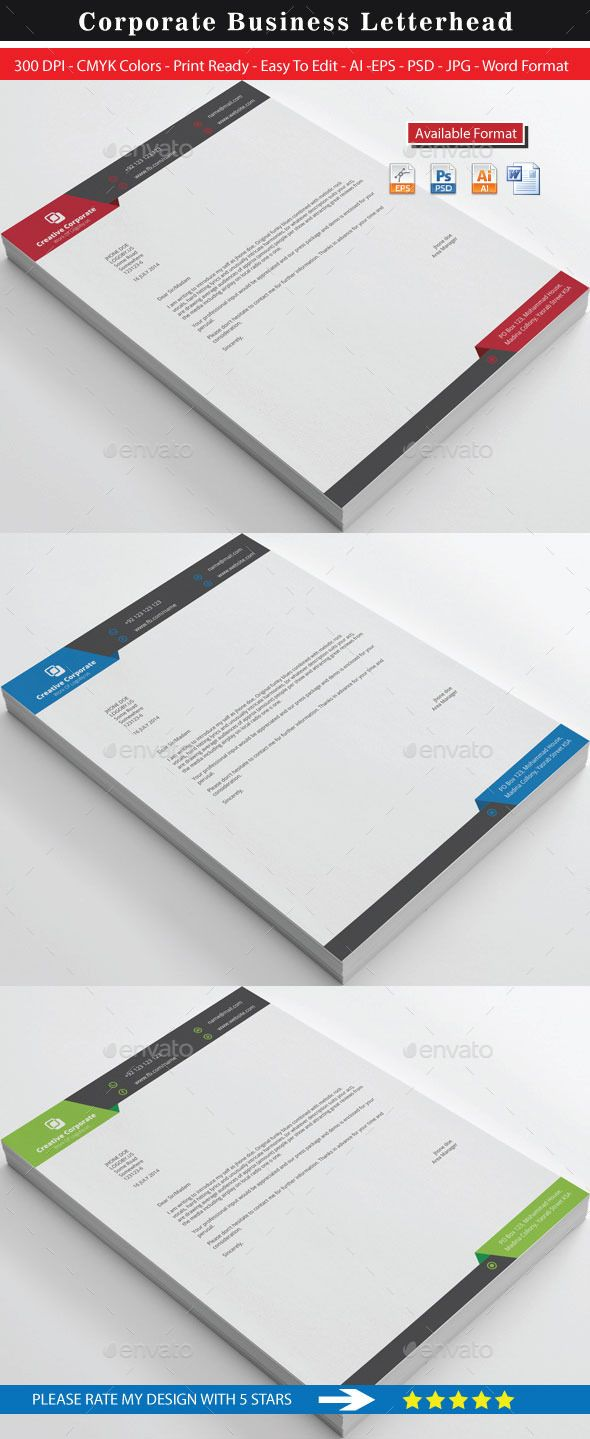 Creative corporate real estate letterhead logos letterhead creative corporate real estate letterhead spiritdancerdesigns Choice Image