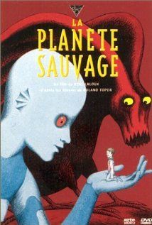 Fantastic Planet (1973) - Slaves and masters dominate the narrative of the faraway world of Ygam. Set around the lifespan of Ter, a minute human shaped Om slave, and pet, of the giant blue alien Draags. Escaping into the wilderness and with a devise used for intellectual advancement of the Draags,