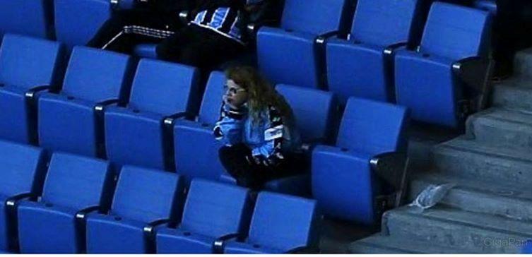 Eu no primeiro #grenal na Arena do Grêmio