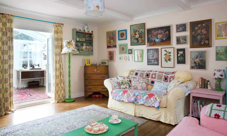 Gran Designs My Old Fashioned Fun House Granny Chic Decor Old Fashioned Decor Colourful Living Room