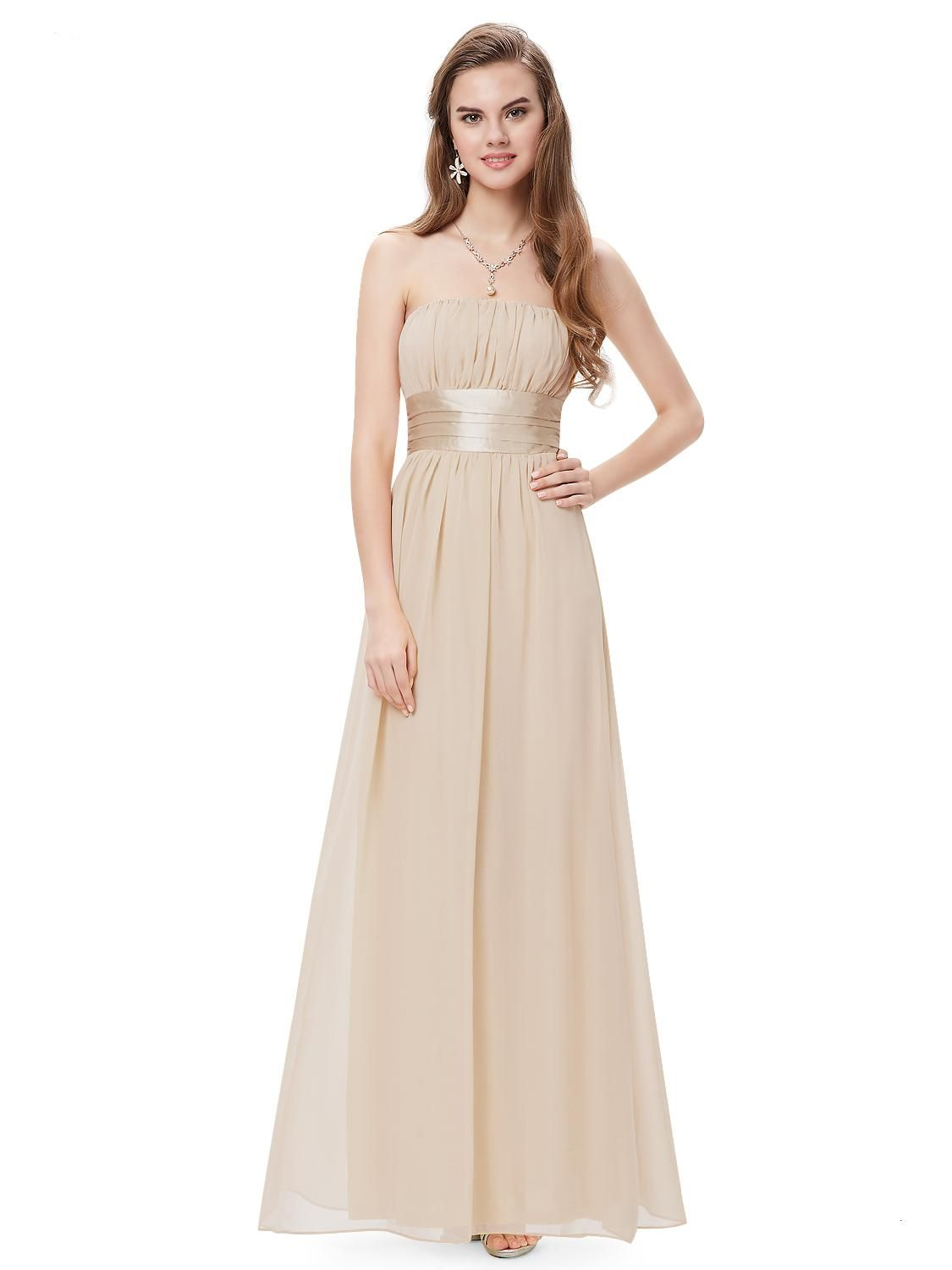 Toasted almond long evening party bridesmaid dress bridesmaid toasted almond long evening party bridesmaid dress dresses for juniors1920s weddingwedding ombrellifo Gallery