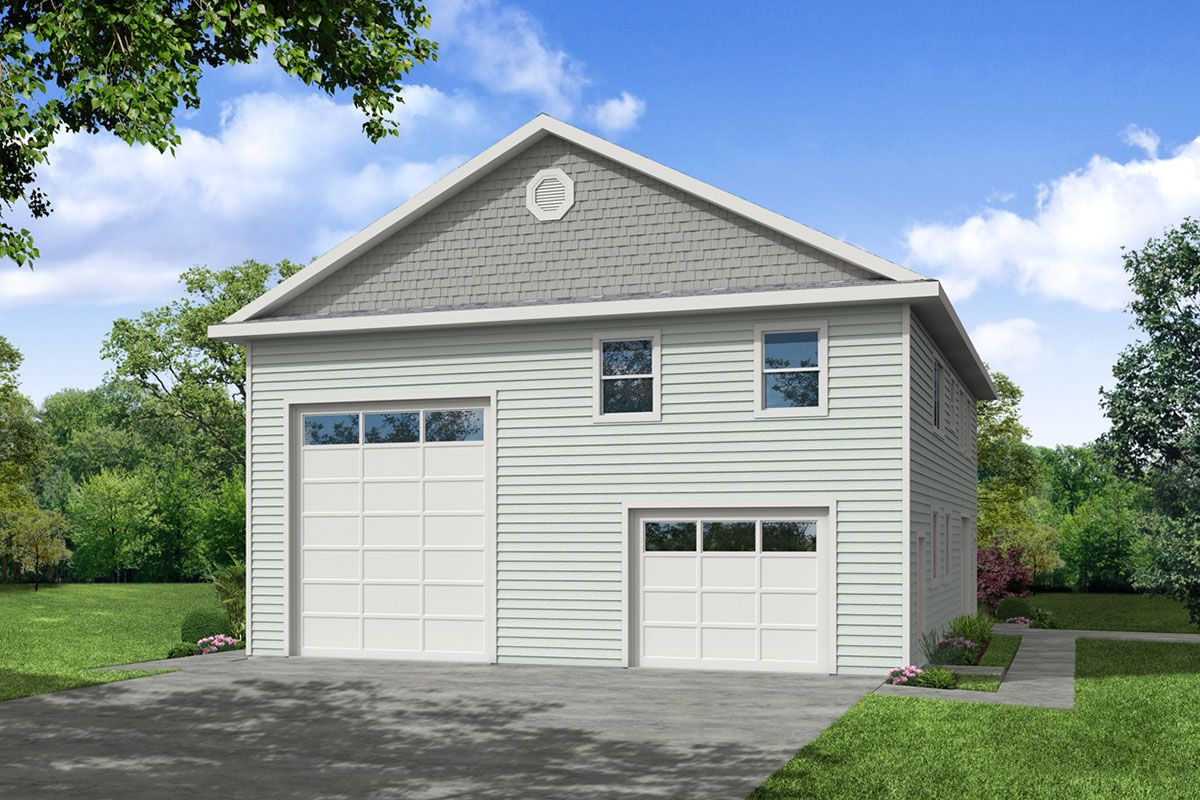 Plan 72996da Garage Apartment Plan With Rv And Tandem Parking In 2021 Carriage House Plans Garage Apartment Plan Apartment Plans