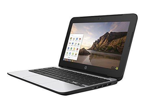 HP Chromebook 11 G4 11.6 Inch Laptop (Intel N2840 Dual-Core 2GB RAM 16GB Flash SSD Chrome OS) Black
