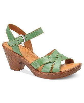 522dc282d7 Born Shoes, Belinda Sandals - Comfort - Shoes - Macy's | clothes and ...