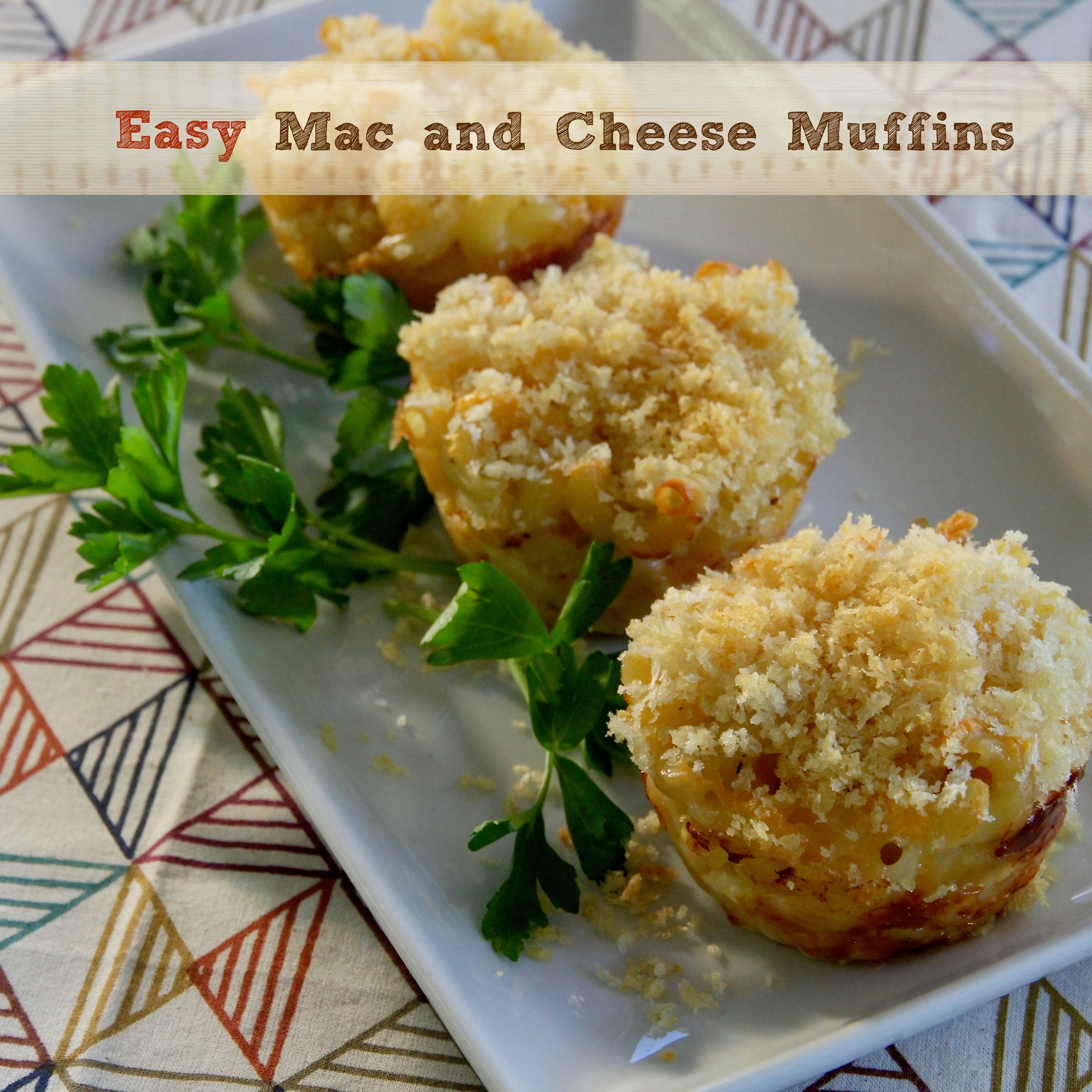 Easy Mac and Cheese Muffins Recipe Easy mac and cheese