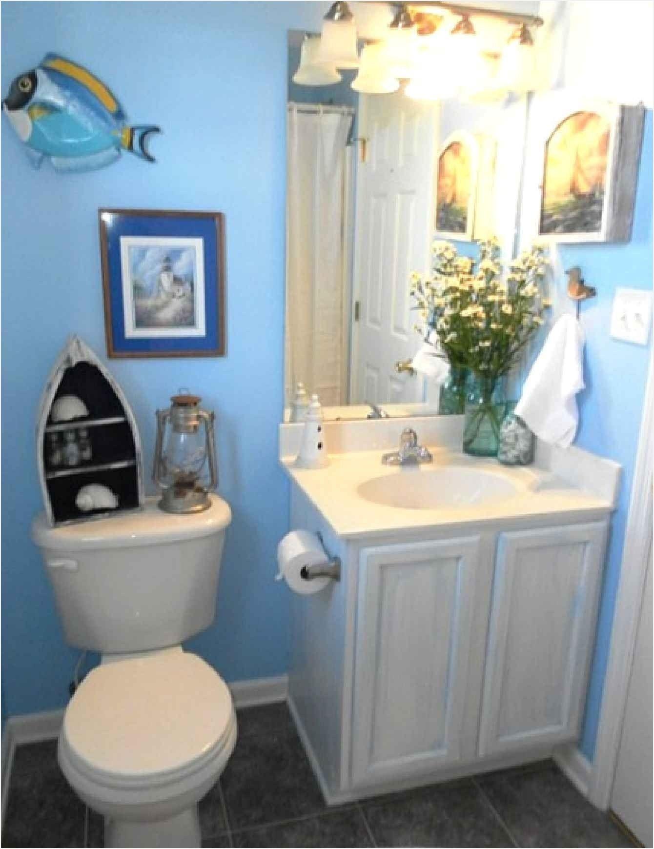 Coastal Half Bath Remodel Ideas With Images Beach Bathroom
