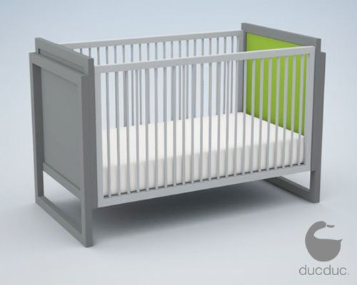 Duc Duc Campaign II ($1795) –cool custom crib with a price to match.