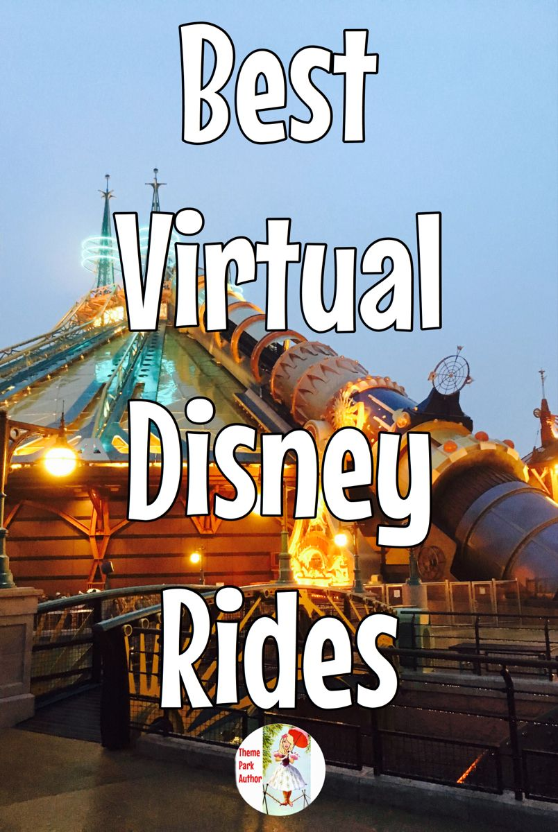 Virtual Disney Rides The Ultimate Virtual Disney