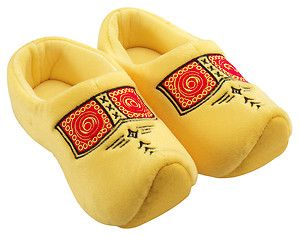 Holland Clogs Dutch Slippers Houseshoes Yellow Klompen New Size 16 35 Child   eBay