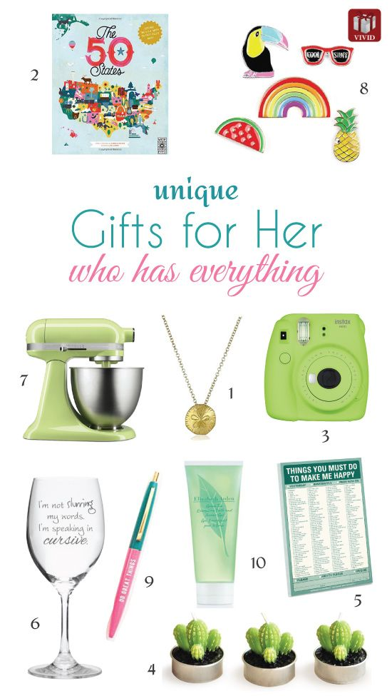 Gifts For Her Who Has Everything Mothers Day