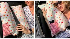 In eight steps to the homemade car cushion Karin Moslener shows you how to do it