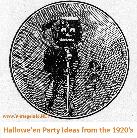 Halloween Party Ideas from the 1920\u0027s Halloween parties, Vintage - vintage halloween decorating ideas