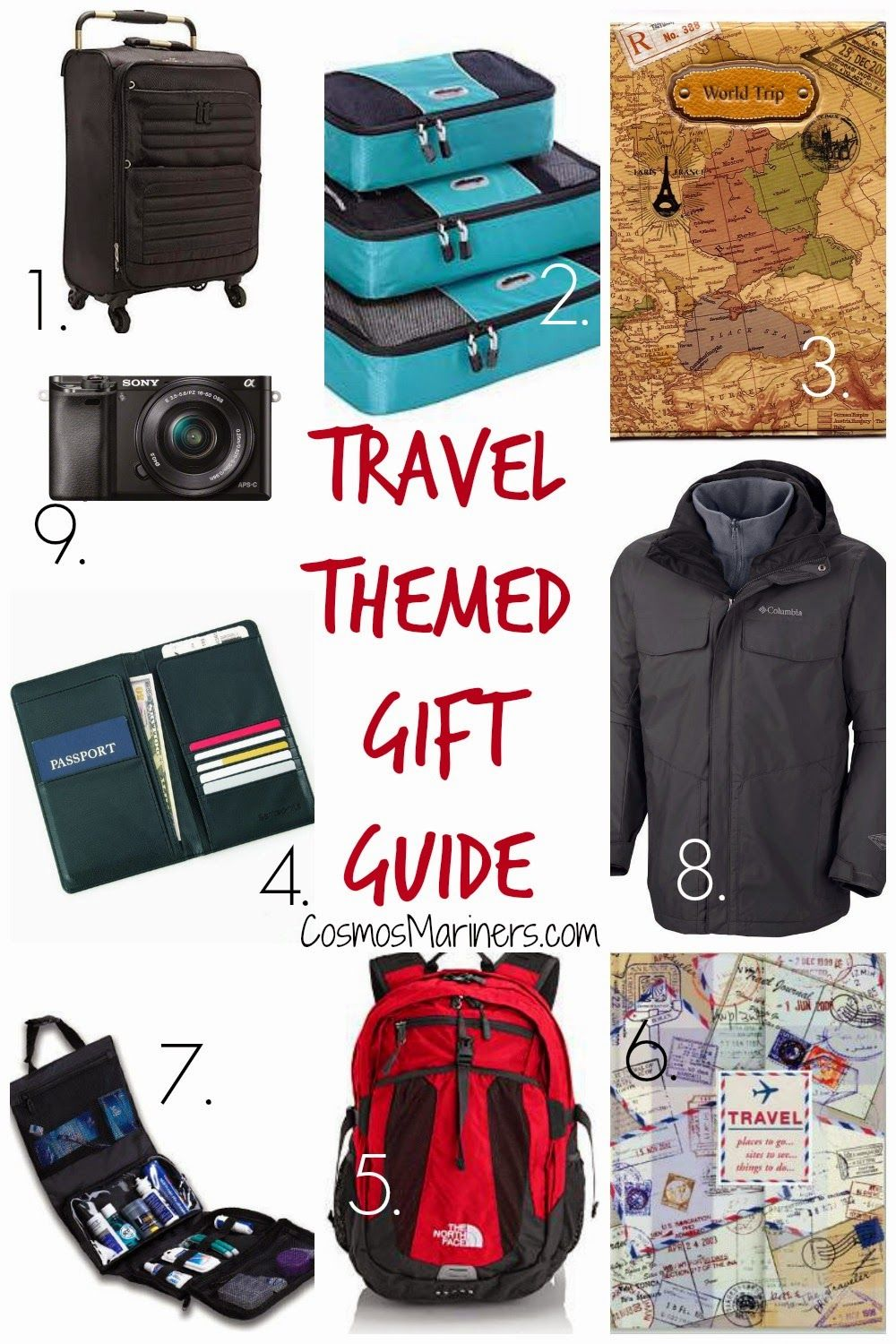 9 awesome gifts for your favorite traveler awesome giftssuitcasegift guidestocking stufferschristmas ideastravelingwanderlusttripstravel