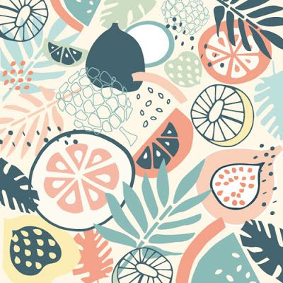 print & pattern: DESIGNER - frances boyd #tropicalpattern