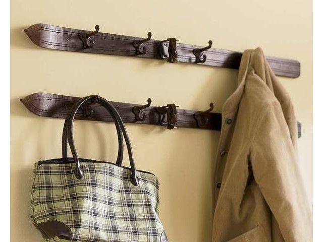 Découvrez 35 porte-manteaux originaux et fait main avec des objets ...