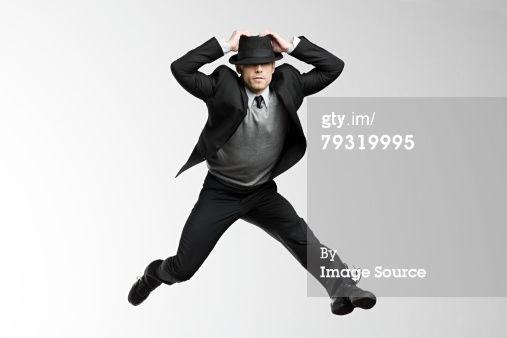 Stock Photo : A man jumping