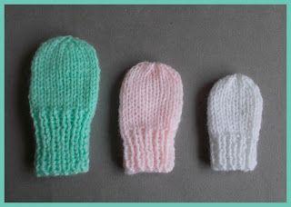 49ce13fe4319 Simple Baby and Preemie Baby Mittens (marianna s lazy daisy days ...