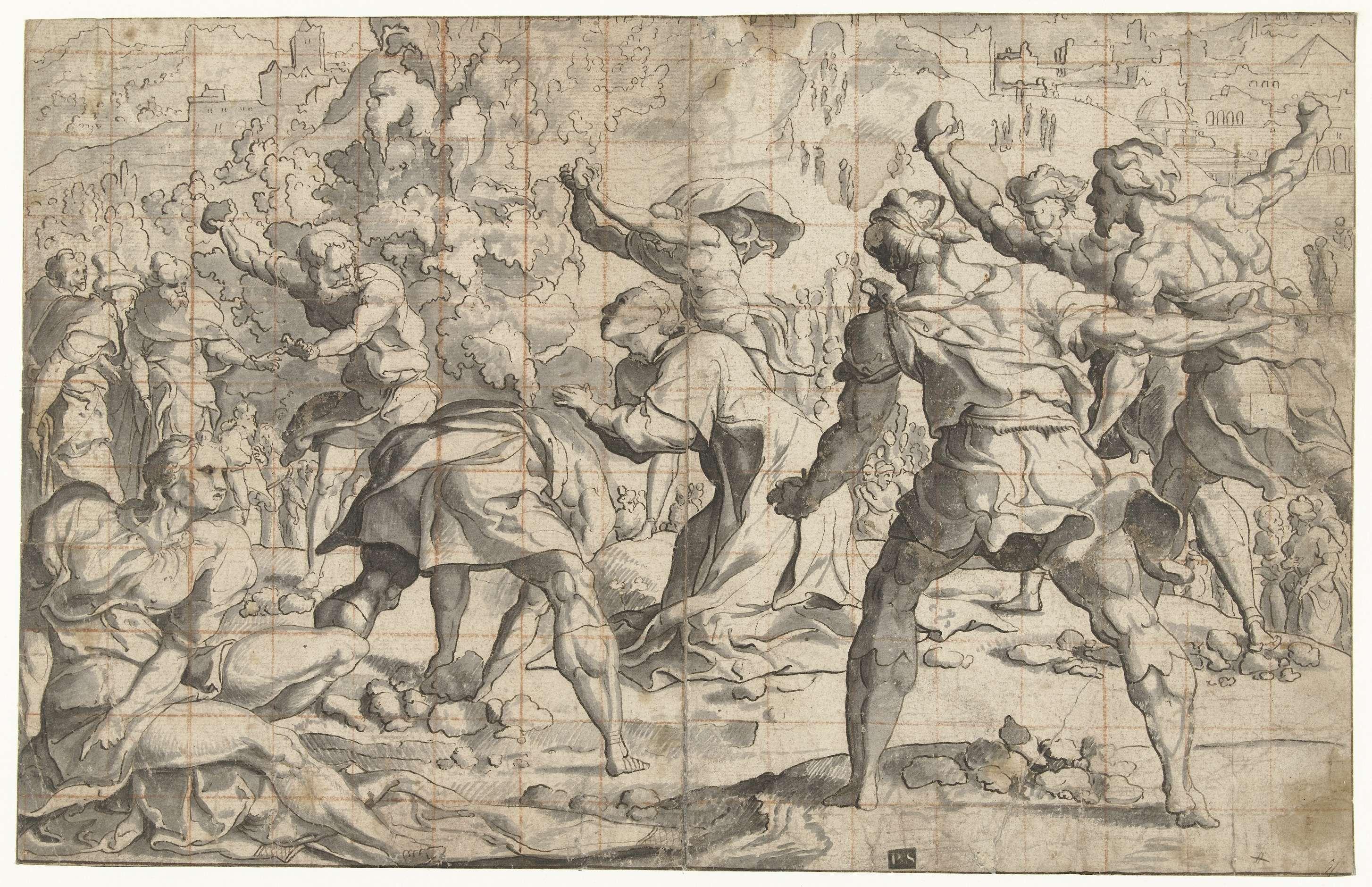 Steniging Van Stephanus Jan Van Scorel 1505 Before 1541