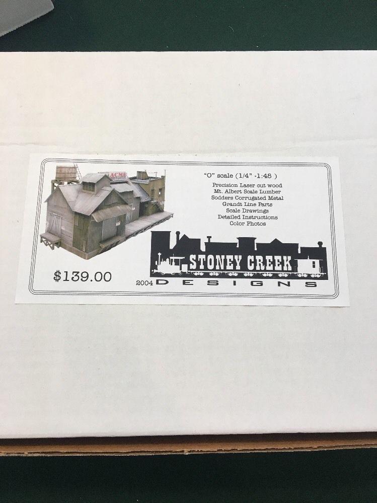 "Stoney Creek ""Acme"" O Scale  | Toys & Hobbies, Model Railroads & Trains, O Scale | eBay!"