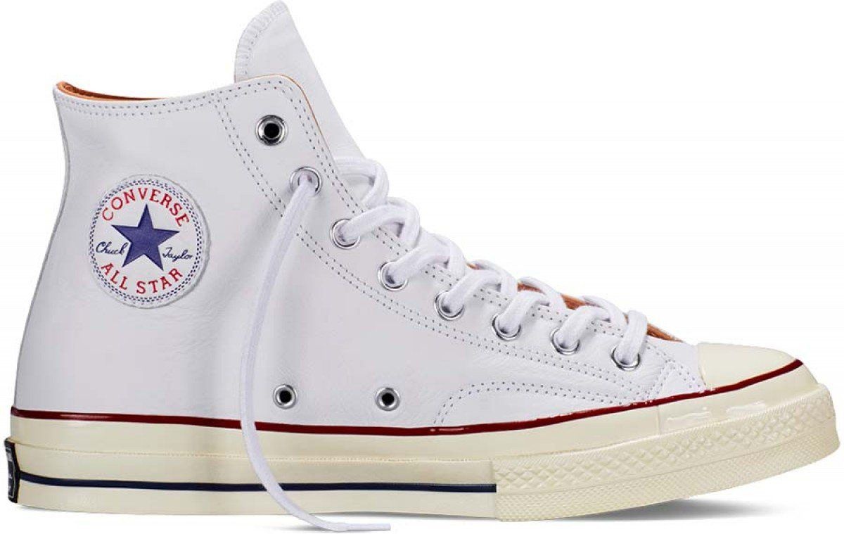 69e3f8ddd6d3 Converse Chuck Taylor All Star 1970 s Leather Hi Top White Egret Nature