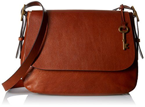 Women s Cross-Body Handbags - Fossil Harper Large Cross Body Bag Brown One  Size    Check out this great product. 7d37439dde012